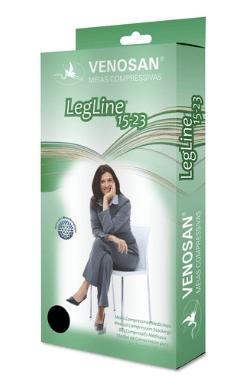 meia de compressão venosan legline 15-23 7/8 meia coxa