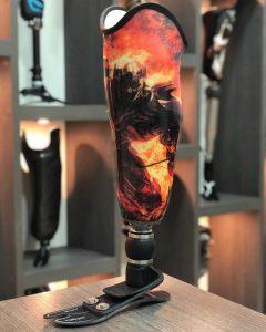customização protese ortopedica