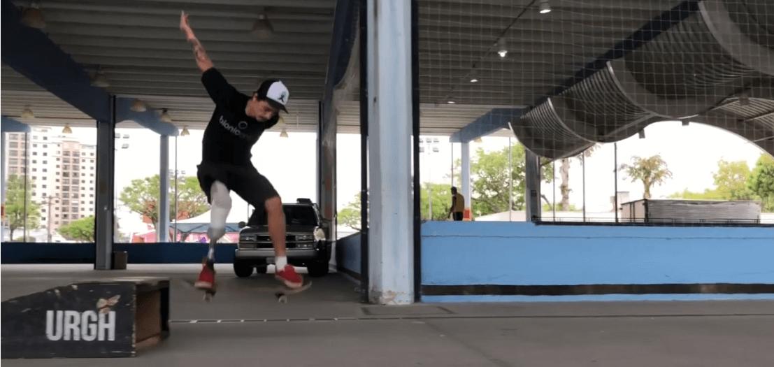 esportes adaptados skate